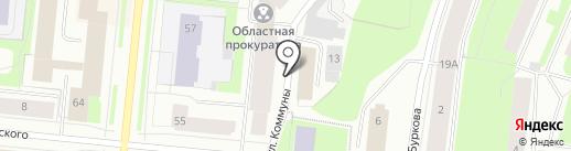 Центр гигиены и эпидемиологии в Мурманской области на карте Мурманска
