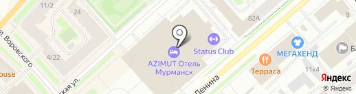 СКБ Контур, ЗАО на карте Мурманска
