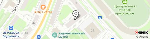 iLocked на карте Мурманска