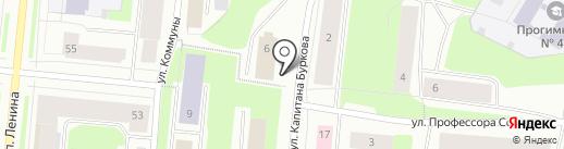 Триадаторг, ЗАО на карте Мурманска
