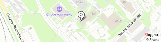 Отдельный батальон ДПС ГИБДД на карте Мурманска