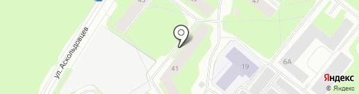 Тренажерный зал на карте Мурманска