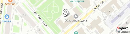 Контрольно-счетная палата Мурманской области на карте Мурманска