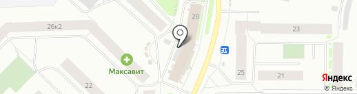 Северторг, ЗАО на карте Мурманска
