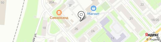 Магазин текстиля для дома на карте Мурманска
