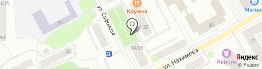 Продуктовый магазин на карте Мурманска
