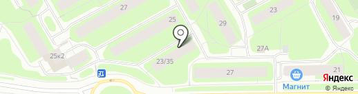 Русана на карте Мурманска
