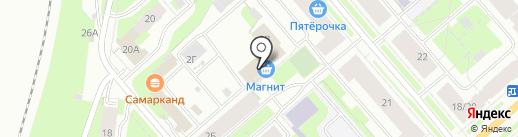Мастерская на карте Мурманска