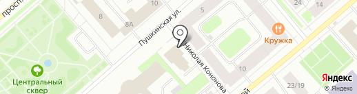 Юрист51 на карте Мурманска