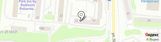 Недвижимость-Сервис на карте Мурманска