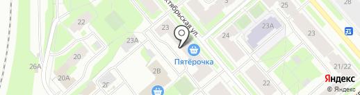 Спортивно-оздоровительный клуб на карте Мурманска
