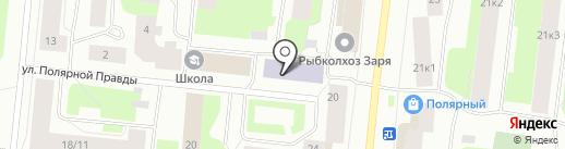Мурманская академия экономики и управления на карте Мурманска
