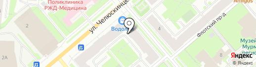 Российская академия народного хозяйства и государственной службы при Президенте РФ на карте Мурманска