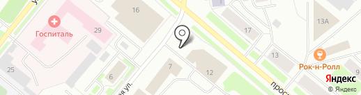 Мурманская областная организация Российского профсоюза работников рыбного хозяйства на карте Мурманска