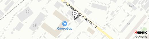 СТОК-ШОП на карте Мурманска