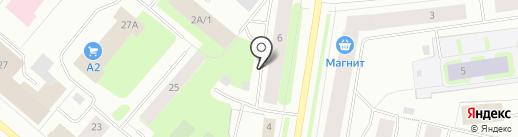 COOB на карте Мурманска