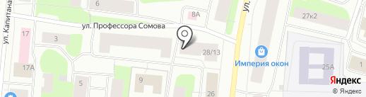 Мебель-Мастер на карте Мурманска