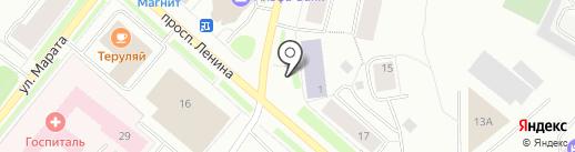 Автомен на карте Мурманска