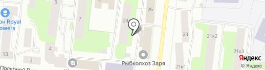 РК Заря на карте Мурманска