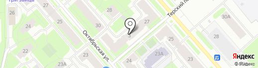 Мурманские мультисервисные сети на карте Мурманска