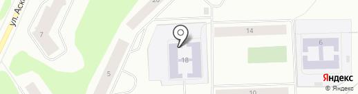 Детская художественная школа на карте Мурманска