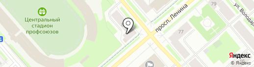 Магазин мужской одежды на карте Мурманска