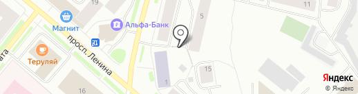 Миланш-Стайл на карте Мурманска