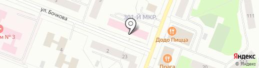 Забота на карте Мурманска