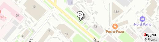 Магазин элитного алкоголя на карте Мурманска