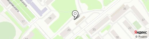 Фейерверк на карте Мурманска