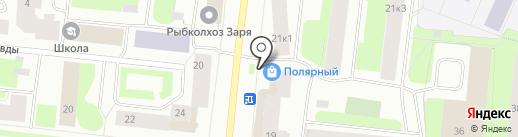 Центр заточки на карте Мурманска