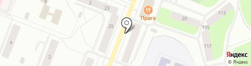 Книжный Гольфстрим на карте Мурманска