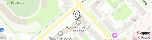 Отдел по мобилизационной и специальной работе Администрации г. Мурманска на карте Мурманска