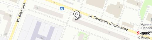 Суши WOK на карте Мурманска