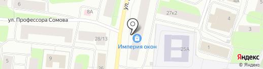 Веселые ребята на карте Мурманска