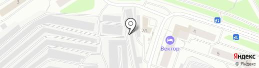 Автокомплекс на карте Мурманска
