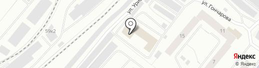 Магазин мебельной фурнитуры на карте Мурманска