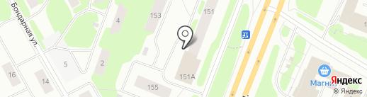 Автомиг на карте Мурманска