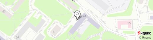 Архивный отдел на карте Мурманска