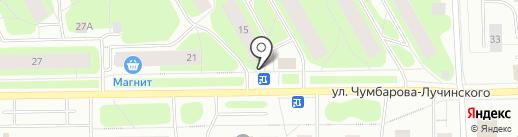 Милана на карте Мурманска