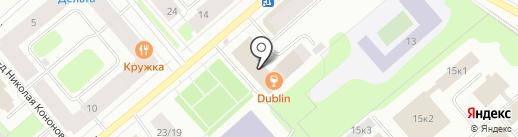 Мурманский областной суд на карте Мурманска
