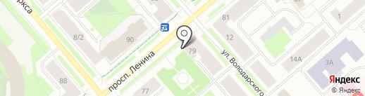 Консалт51.рф на карте Мурманска