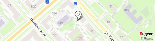 Норд Импульс, ЗАО на карте Мурманска