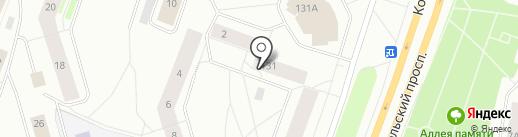 Оценочная компания на карте Мурманска