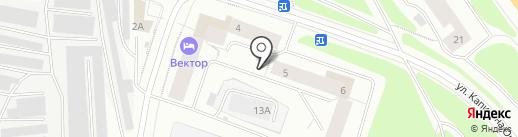Валери на карте Мурманска