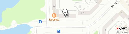 ОБЕРЕГ, НП на карте Мурманска