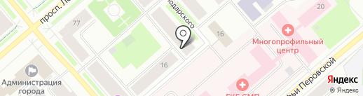 Игроман на карте Мурманска