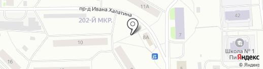 Леди на карте Мурманска