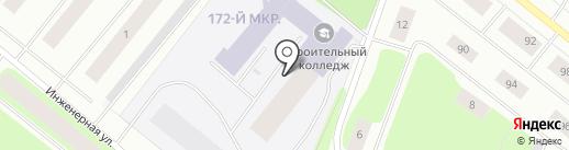 Мурманский строительный колледж им. Н.Е. Момота на карте Мурманска