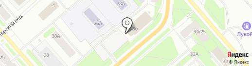 Комп-сервис на карте Мурманска